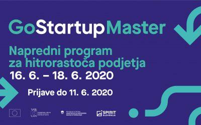 GoStartup Master: Napredni program za hitro rastoča podjetja