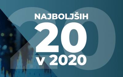 Najboljših 20 v 2020